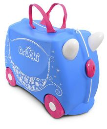 Trunki Princess Carriage Pearl - Blue