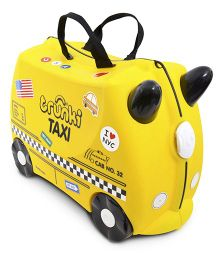 Trunki Taxi Tony Travel Luggage Bag - Yellow