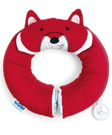 Trunki Yondi Fox Travel Pillow - Red