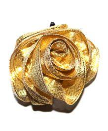 Bling & Bows Hairclip - Gold