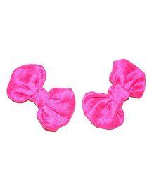Bling & Bows Hairclip - Fuchsia Pink