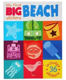 My First Big Stickers - Beach