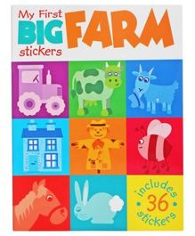 My First Big Stickers - Farm