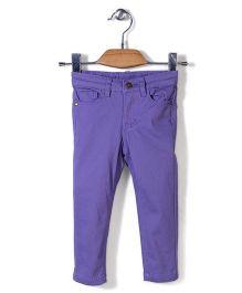 Sela Full Length Trouser - Purple