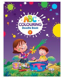 ABC Colouring Doodle Book B - English