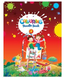 ABC Coloring Doodle Book 4 - English