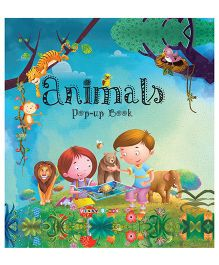 Animals Pop-up Book - English