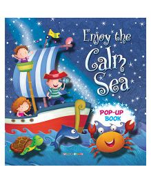 Enjoy the Calm Sea Pop-up Book - English