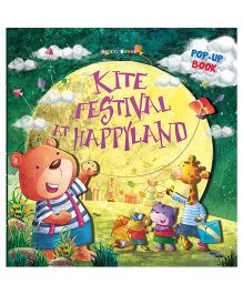 Kite Festival at Happyland Pop-up Book - English