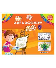 My Art And Activity Book 1 - English