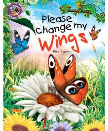 Please Change My Wings Story Book - English