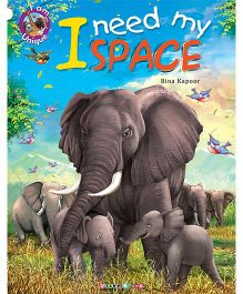 I Need My Space Story Book - English