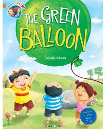 The Green Balloon Story Book - English