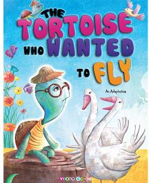 The Tortoise Who Wanted To Fly Story Book - English