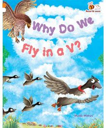 Why Do We fly In a V Story Book - English