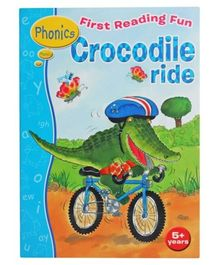 Shree Book Centre First Reading Fun Phonics Crocodile Ride