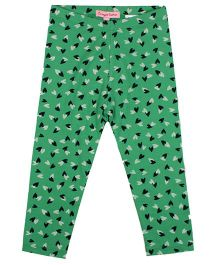 CrayonFlakes LockedUp Hearts Leggings - Green