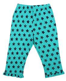 CrayonFlakes Shining Stars Light Pyjamas - Turquoise