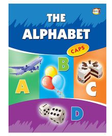 The Alphabet Capital Letters Writing Book - English