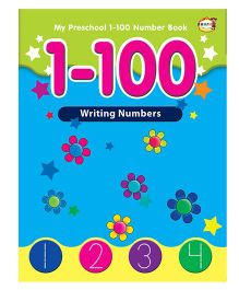 1 to 100 Writing Numbers Book - English
