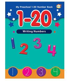 Numbers 1 to 20 Writing Book - English