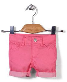 UCB Solid Colour Shorts - Pink