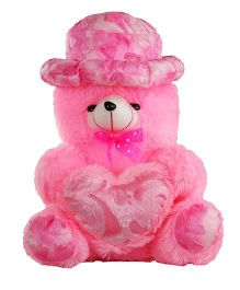 O Teddy Bear With Heart - Pink