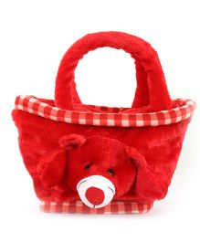 O Teddy Mini Basket - Red