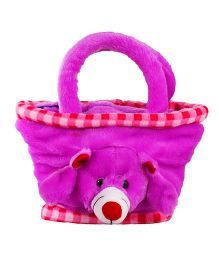 O Teddy Mini Basket - Pink