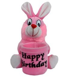 O Teddy Bunny Pen Holder - Pink