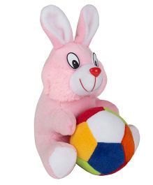 O Teddy Crazy Rabbit With Ball - Pink