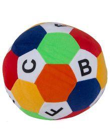 O Teddy Cozy Soft Ball Alphabet Print - Multi Color
