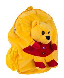 O Teddy Soft Toy Shoulder Bag - Yellow And Red