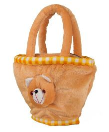 O Teddy Soft Toy Hand Bag - Brown