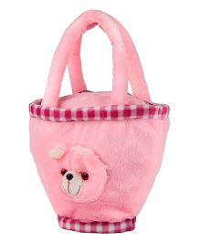 O Teddy Soft Toy Hand Bag - Pink
