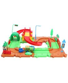 Fab & Funky Train Set - Green And Brown