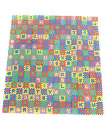 Number And Alphabets Puzzle Mat