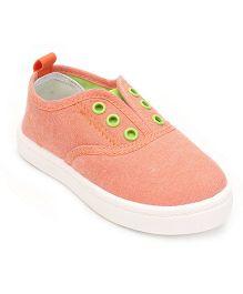 DingDingWa Stylish Baby Shoes - Light Orange