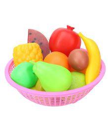 Ratnas Fruit Basket pink - 11 Pieces