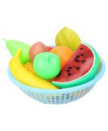 Ratnas Fruit Basket blue - 11 Pieces