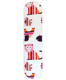 Blooming Buds Jungle Friends Table Runner - Multicolor