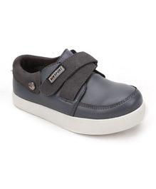 DingDingWa Stylish Baby Shoes With Belt - Grey