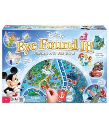 Wonderforge World Of Disney Eye Found It Board Game