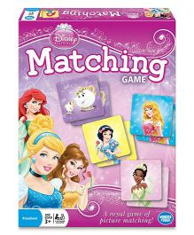 Disney WonderForge Multi Princess Matching Game - Multicolor