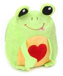 Fab N Funky Froggy Shaped School Backpack