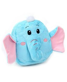 Fab N Funky Elephant Shaped School Backpack - Blue