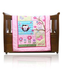 Baby Oodles Baby Comforter Owl Theme - Multi Color