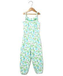 Beebay Singlet Jumpsuit Marigold Print - Green