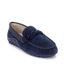 Little Paws Classy Loafers - Blue