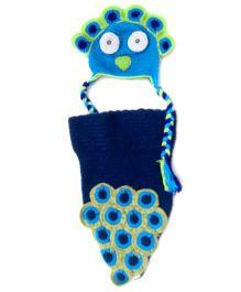 MayRa Knits Monkey Photo Prop Dress Set - Multicolour